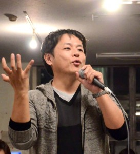 NPO法人アイデア創発コミュニティ推進機構 理事長の矢吹博和さん