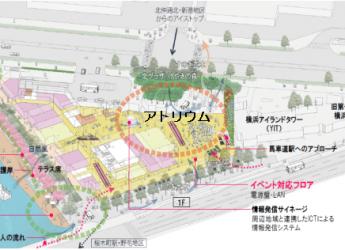 新市庁舎の「ひろば」イメージ