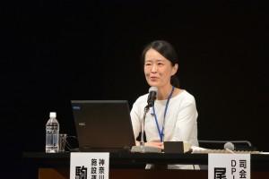 今回のシンポを企画した神奈川県民ホールの駒井由理子さん