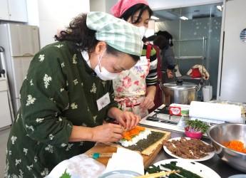 旭区で開催されたアジア各国料理体験教室