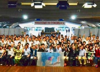 2015年に大桟橋客船ターミナルで開催されたインターナショナルオープンデータデー横浜